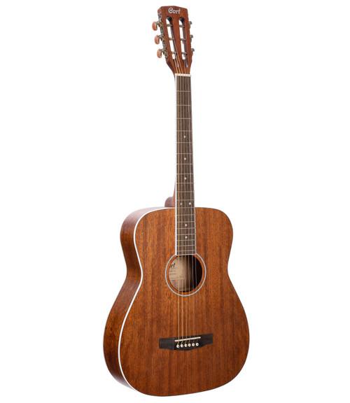 Cort AF590MF All Mahogany Concert Acoustic/Electric - Natural
