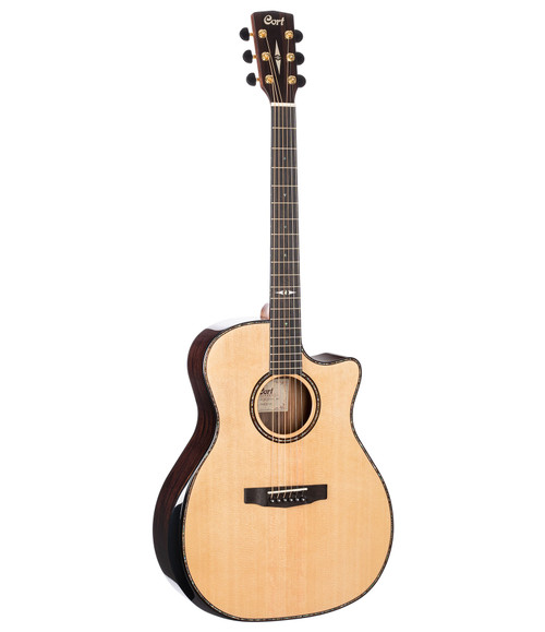 Cort GA-PF Bevel Acoustic/Electric - Natural