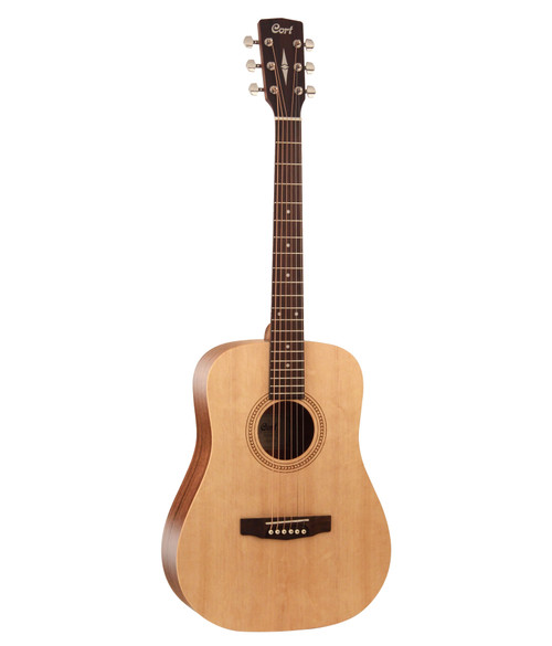 Cort Earth 50 7/8 Size Acoustic - Natural Satin