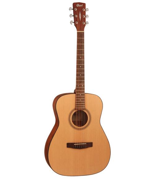 Cort AF505 Short Scale Folk Guitar - Open Pore Natural