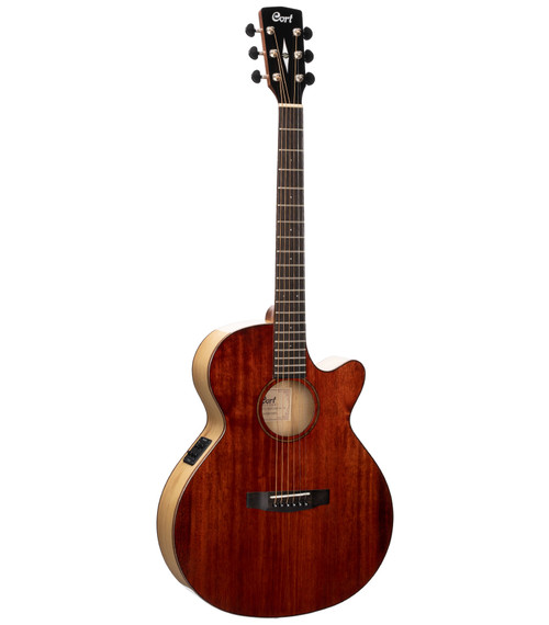 Cort SFX Myrtlewood Acoustic/Electric - Brown Gloss