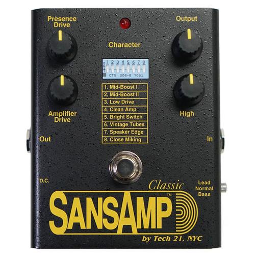 Sansamp Classic Pedal Reissue 2021