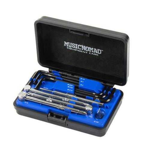 Music Nomad 11-piece Premium Guitar Tech Truss Rod Wrench Set