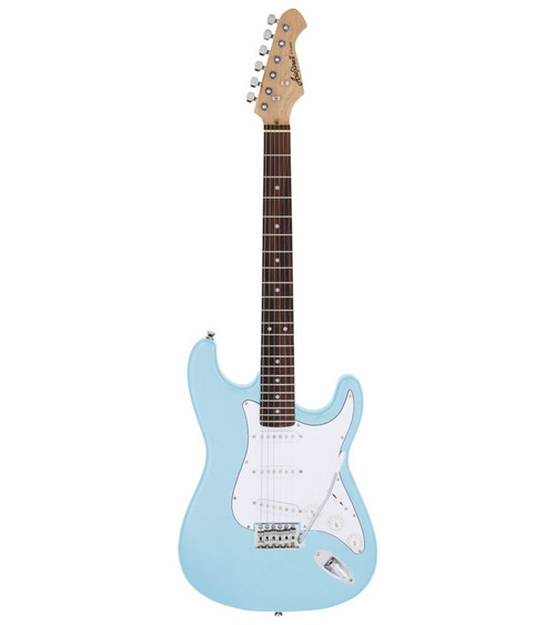 Aria STG-003 Series Electric - Sonic Blue
