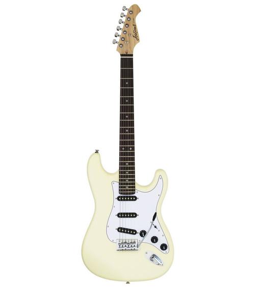 Aria STG-003SPL Series Electric - Vintage White