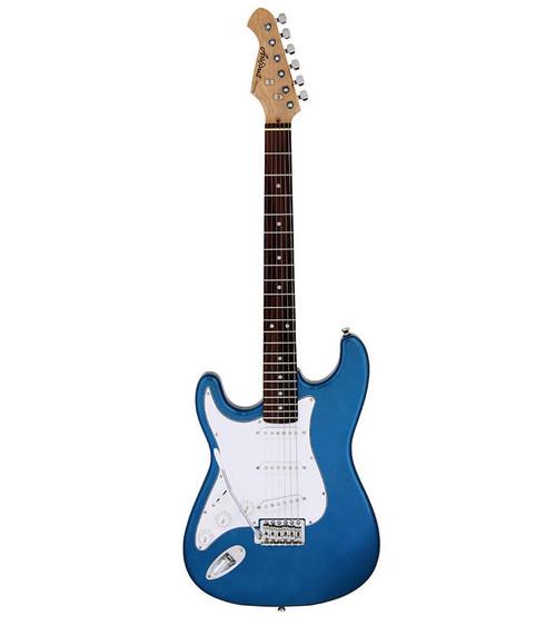 Aria STG-003 Series Left Handed Electric - Metallic Blue