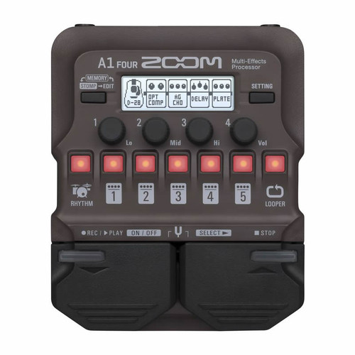 Zoom A1 Four Acousttic and Wind Multi-Effects Processor