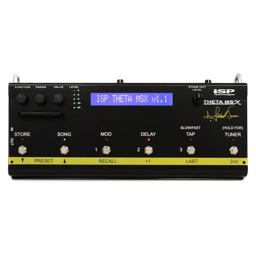 ISP Technologies THETA MSX DSP™ Michael Sweet Guitar System