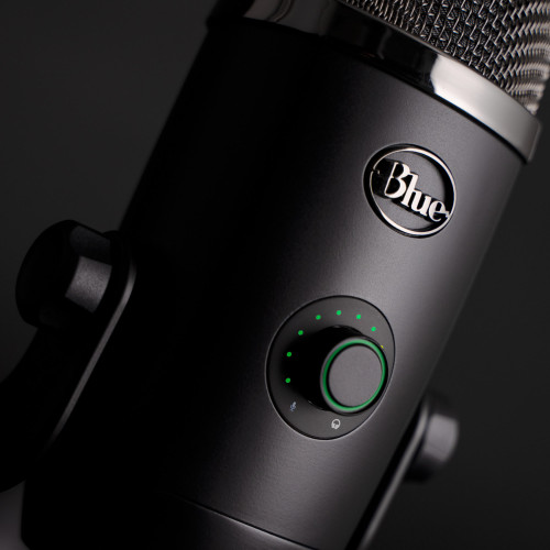 Blue Yeti X Professional Multi-Pattern USB Microphone