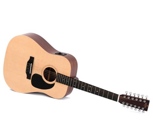 Sigma DM-12E12-String Acoustic/Electric Guitar