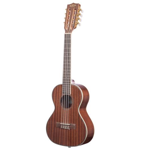Kala KA-8E Gloss Mahogany 8-String Tenor Ukulele with Pickup