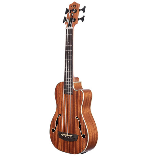Kala Natural Journeyman Mahogany Acoustic/Electric U•BASS®