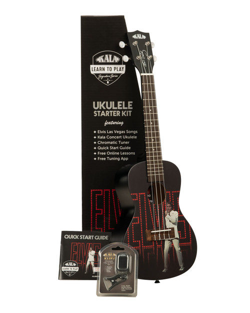 Kala Learn to Play Viva Las Vegas Concert Ukulele Starter Kit