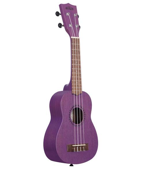 Kala Royal Purple Watercolour Meranti Soprano Ukulele