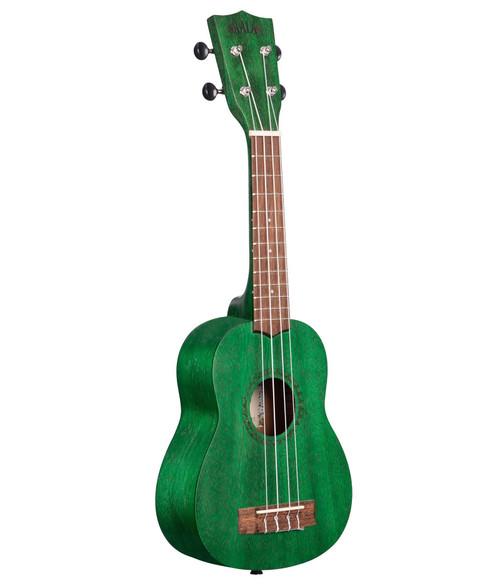 Kala Fern Green Watercolour Meranti Soprano Ukulele