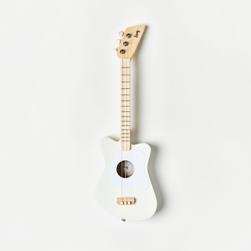 Loog Mini Acoustic Guitar - White