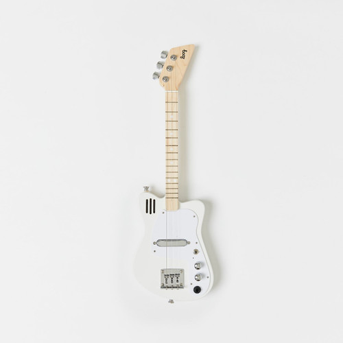 Loog Mini Electric Guitar - White