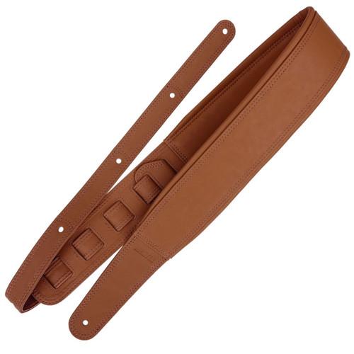 Richter Springbreak Vegan Leatherette Brown Guitar Strap