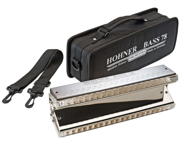 Hohner Bass 78 Orchestral Bass Harmonica