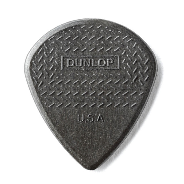 Jim Dunlop Jazz III Max-Grip Carbon Fiber