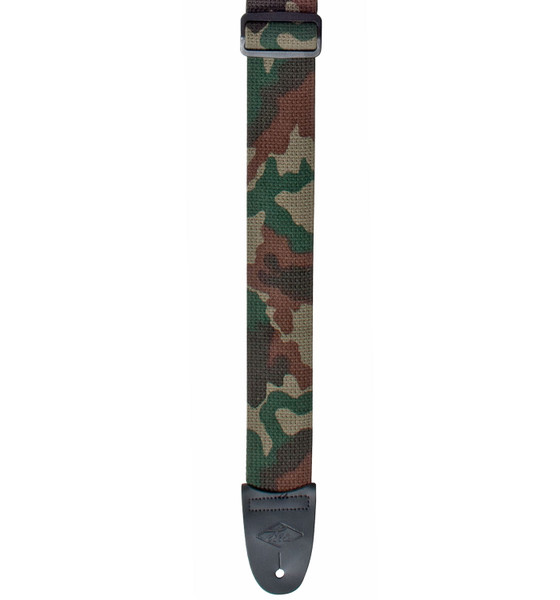 """LM 2"""" Camouflage Guitar Strap"""