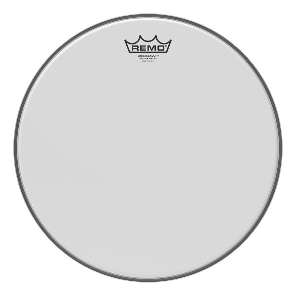 Remo Smooth White™ Ambassador® Drum Head