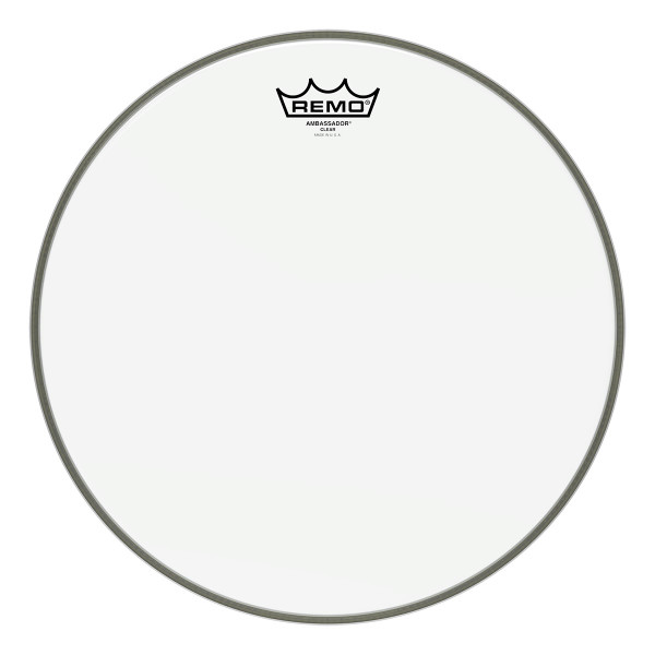 Remo Ambassador® Clear Drum Head