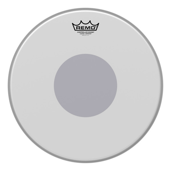 "Remo Emperor® 14"" Coated Bottom Black Dot™ Snare Head"