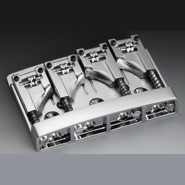 Schaller 3D-4 Bass Bridge - Chrome