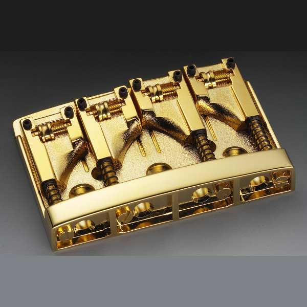 Schaller 3D-4 Bass Bridge - Gold