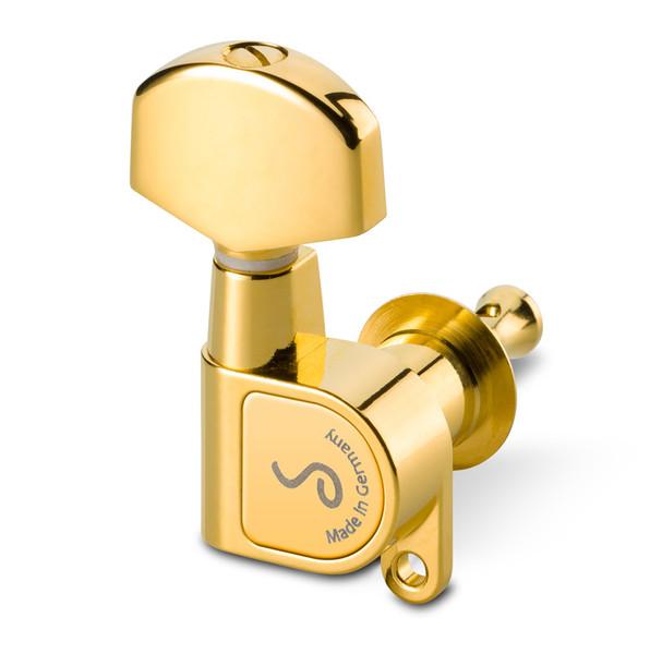 Schaller M6 180 3 + 3 Gold Machine Heads