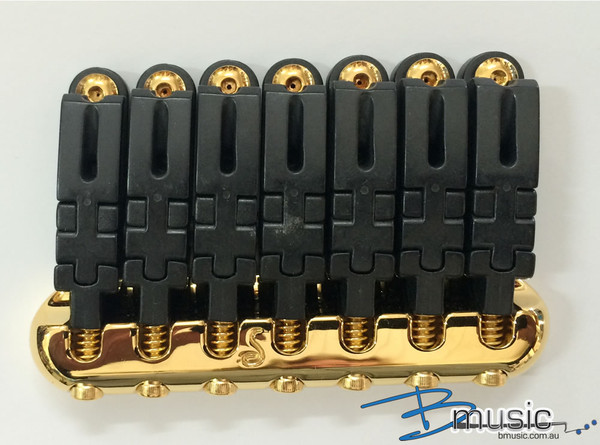 Schaller Hannes® 7-string Bridge - Gold