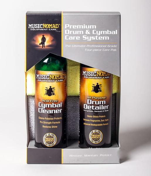 Music Nomad Premium Drum & Cymbal Care Kit