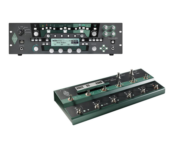 Kemper Profiler Rack and Remote Combo