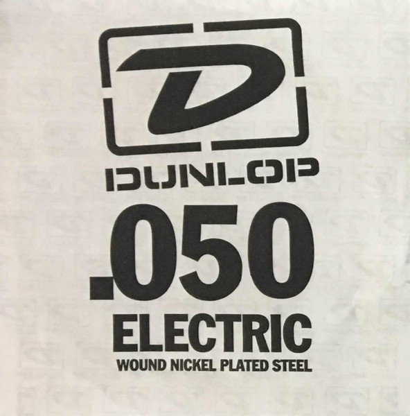 Dunlop .050 Round Wound Electric Single String