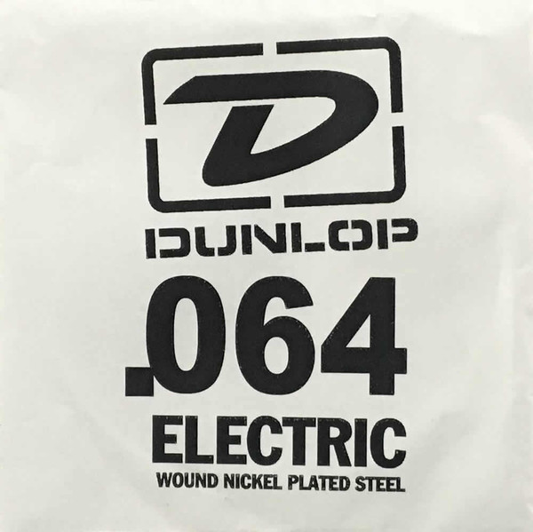 Dunlop .064 Round Wound Electric Single String