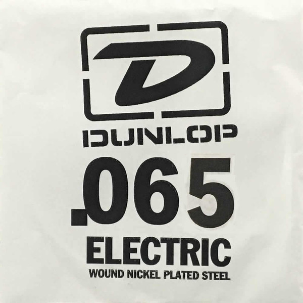 Dunlop .065 Round Wound Electric Single String