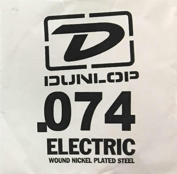 Dunlop .074 Round Wound Electric Single String