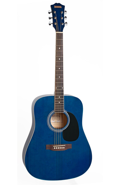Redding Transparent Blue Dreadnought Acoustic