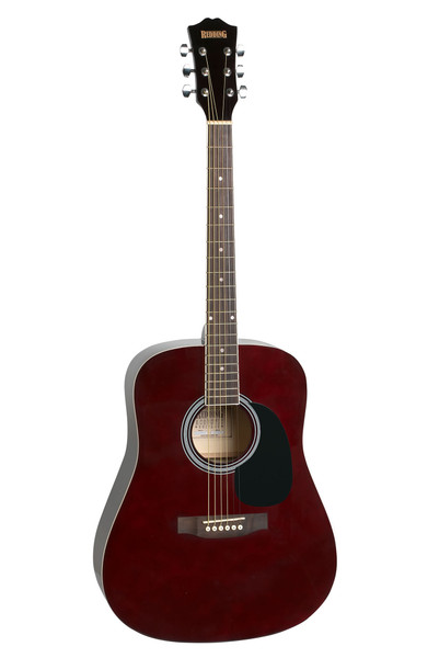 Redding Transparent Wine Red Dreadnought Acoustic