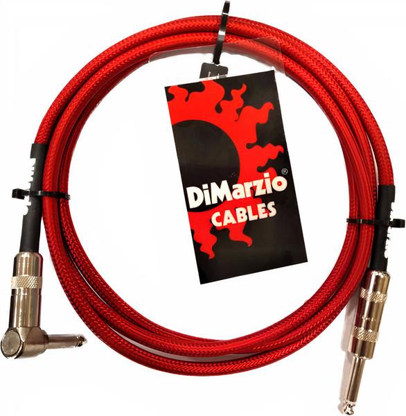 DiMarzio EP10 10' Pro Guitar Cable - Red