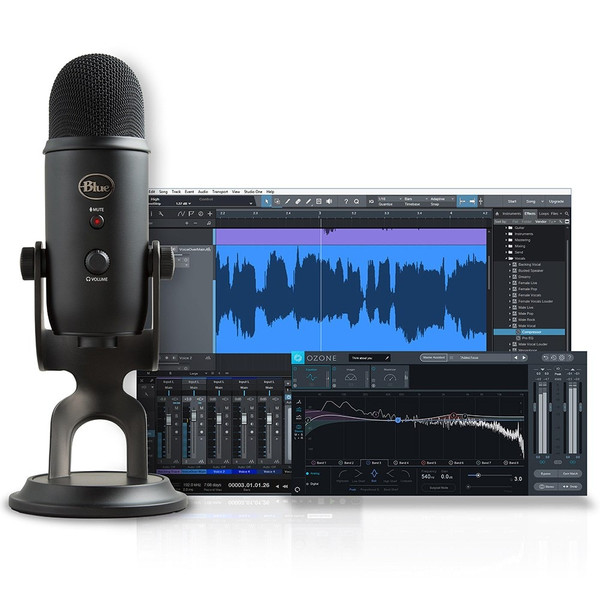 Blue Yeti Studio All-in-One Recording System