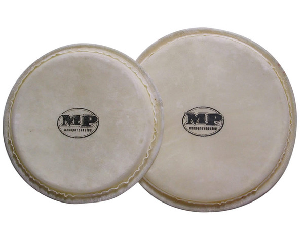 """Mano Percussion Replacement 6"""" & 7 1/16"""" Bongo Heads"""