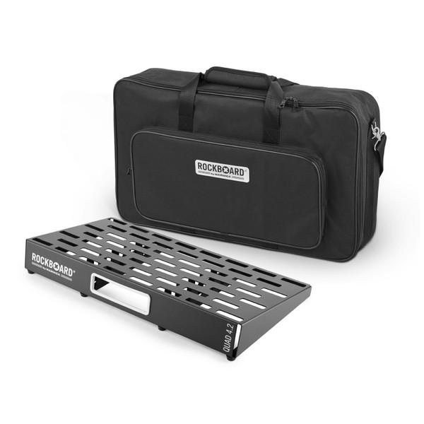 RockBoard® QUAD 4.2 Pedal Board with Gig Bag
