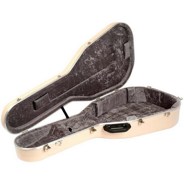 Hiscox Standard 000 Ivory Acoustic Guitar Case