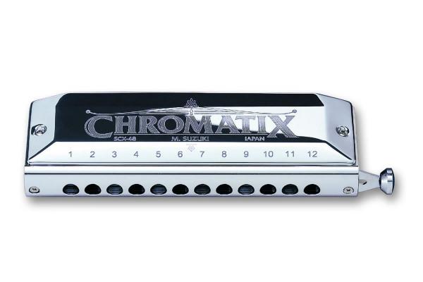 Suzuki SCX-48 Chromatix Deluxe 12-hole Chromatic