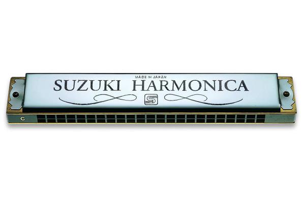 Suzuki SU-21 2 Timer Tremolo Harmonica