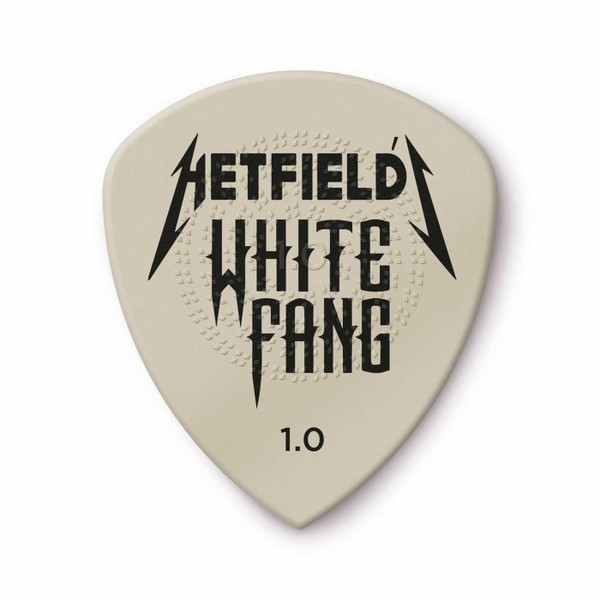 Jim Dunlop 1.0mm James Hetfield White Fang™ Custom Flow® Pick