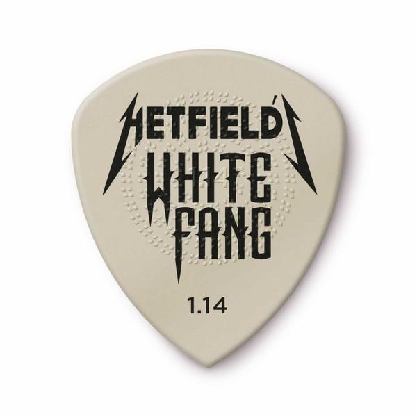 Jim Dunlop 1.14mm James Hetfield White Fang™ Custom Flow® Pick