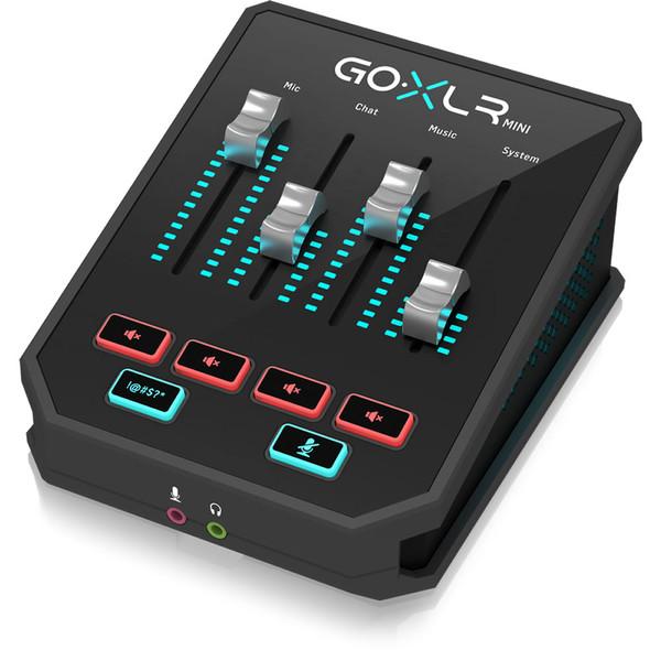 TC Helicon GoXLR Mini All-in-one Audio Interface